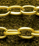 Gold Plate 5x3mm Cable Chain sold by the foot 398x