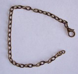 Antique Bronze Bracelet, Necklace Extender with Lobster Clasp 581x
