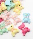 Mixed Resin Teddy Bears Craft Decoration DOZEN PACK 692x