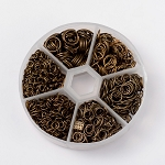 1745pcs Mixed Size Antique Bronze Jump Rings 4mm-10mm 920x