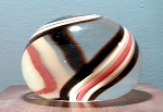 Swirl Art Glass Studio Paperweight signed congelosi 1982