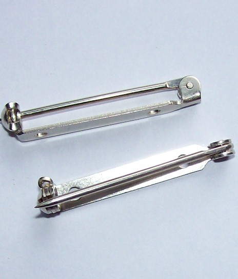 1 5 inch SUPERIOR Solid Nickel MADE IN USA BarPin Brooch Pin 715x