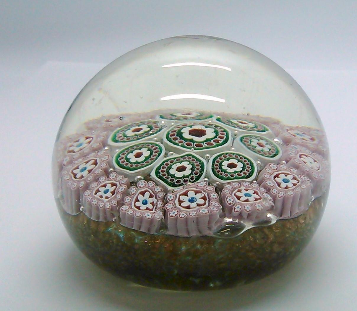 Vintage Italian Millefiori Cane Glass Cabs Glass Art Supplies 40
