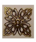Antiqued Bronze 25mm Filigree 390x