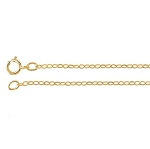 14/20 Gold-Filled 18inch 1.7mm Flat Cable Chain 486x