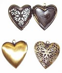 Antique Bronze Filigree Heart Perfume Locket 528x