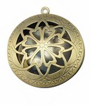 Diffuser Locket Round Antique Bronze Scent Locket 643x