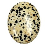 40x30mm Dalmation Flat Back Gemstone Cabochon 851x