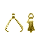 7mm Gold Tone Pinch Bail Ice Pick Bail Prong Bail 860q