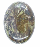 40x30mm Jasper Flat Backed Loose Semi-precious Gemstone Cabochon 860x