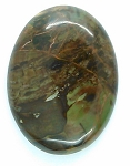 40x30mm Jasper Flat Backed Loose Semi-precious Gemstone Cabochon 860xI