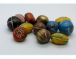 2+ ounces Mixed Handmade Clay Beads deep primary colors 992x