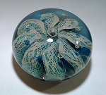Studio Art Glass Paperweight Fred Cresswell 1992