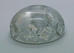 Vintage GZB Vienna Central Bank Crystal Glass Paperweight