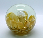 Vintage Hand Blown Studio Art Glass Paperweight