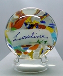 Vintage Luraline DEGENHART Glass Paperweight WEST VIRGINIA Ohio