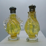 Vintage Art Glass Mid-Century Murano Salt Pepper Shaker