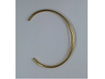 12pcs of Raw Brass Bangle bracelet finding Cuff Bracelet blank bracelet L18