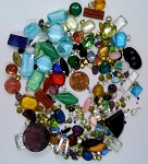 Vintage Glass Rhinestone Jewelry Repair Lot Loose mixed stones L29