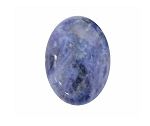18x13mm Natural Sodalite Flat Back Cabochon Gemstone Cameo Jewelry Supply S2083
