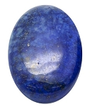40x30mm Lapis Lazuli Dyed Flat Back Blue Cabochon Gemstone S2102