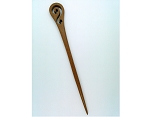 7inch Wood Hair Stick Carved Hair Pin Accessory Craft Supply S2111
