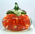 SOLD - Large Tomatoe Paperweight Vintage Prestige St. Clair Joe Rice G1104