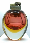 Vintage Seguso Sommerso Art Glass Mid-Century Murano Table Lighter