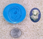 Labrador Golden Retriever Dog Lover Food Safe Silicone Mold soap clay resin