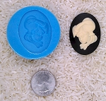 Astrology Zodiac Sign Aquarius Waterboy Food Safe Silicone Cameo Mold soap