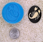 Astrology Zodiac Sign Scorpio Scorpian Food Safe Silicone Cameo Mold candy