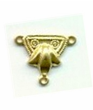11R-G5463 Brass ornamental drop with ring