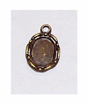 Antique Bronze 10x8 setting with ring 513x