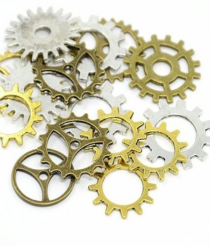 1oz. Mixed Lot Watch Parts Clock Parts Watch Gears 916x
